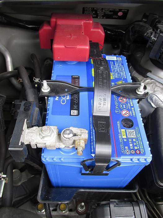 ワゴンR MH34S のバッテリーを交換しました!_e0382354_20163262.jpg