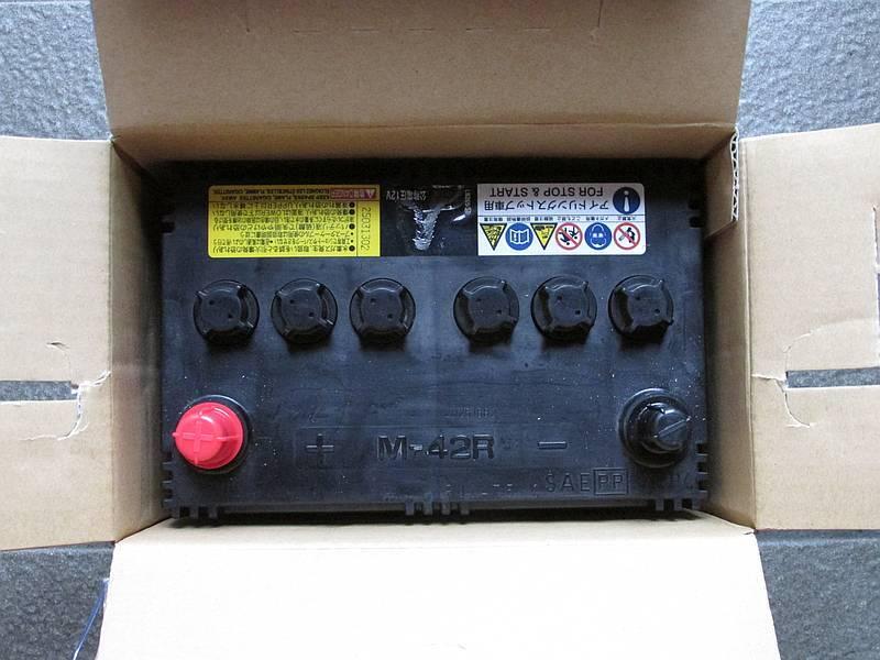 ワゴンR MH34S のバッテリーを交換しました!_e0382354_20211568.jpg
