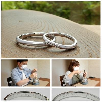 オリジナルの結婚指輪   岡山_d0237570_17015425.jpg