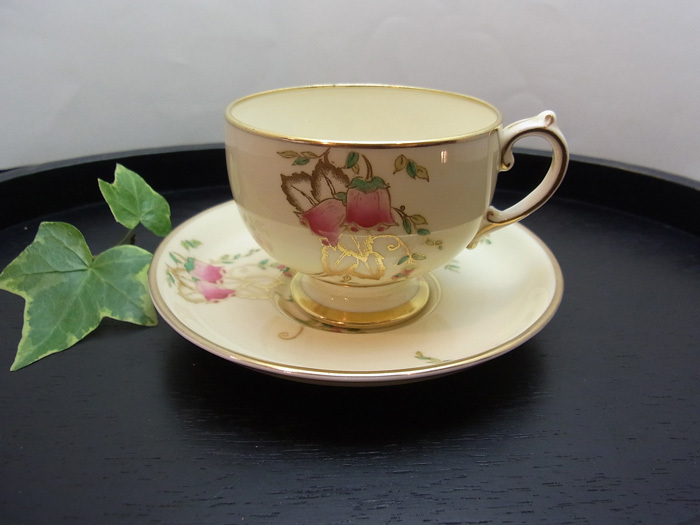 ホタルブクロのカップ&ソーサー_d0127182_14030438.jpg