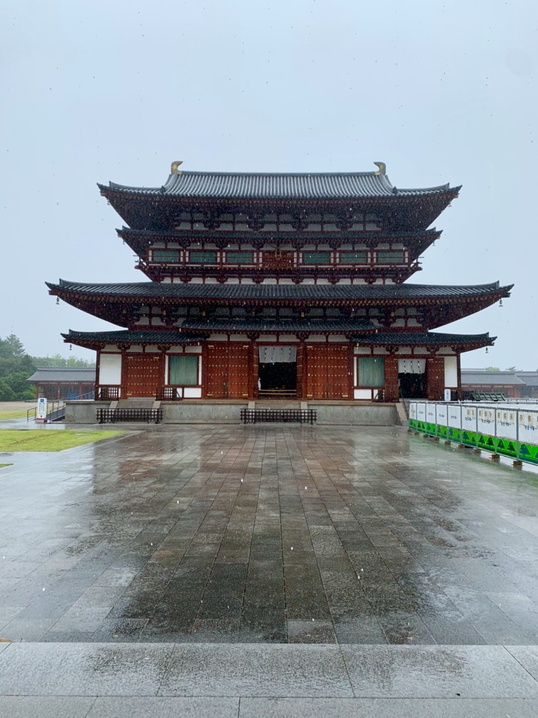 法隆寺と薬師寺と柿の葉寿司_a0258686_08224691.jpeg