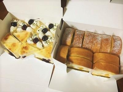 ベイクドチーズケーキとマンゴーロールケーキ_f0231189_22243535.jpg