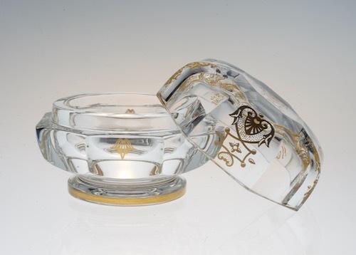Baccarat EMPIRE Glass Box_c0108595_23564817.jpeg