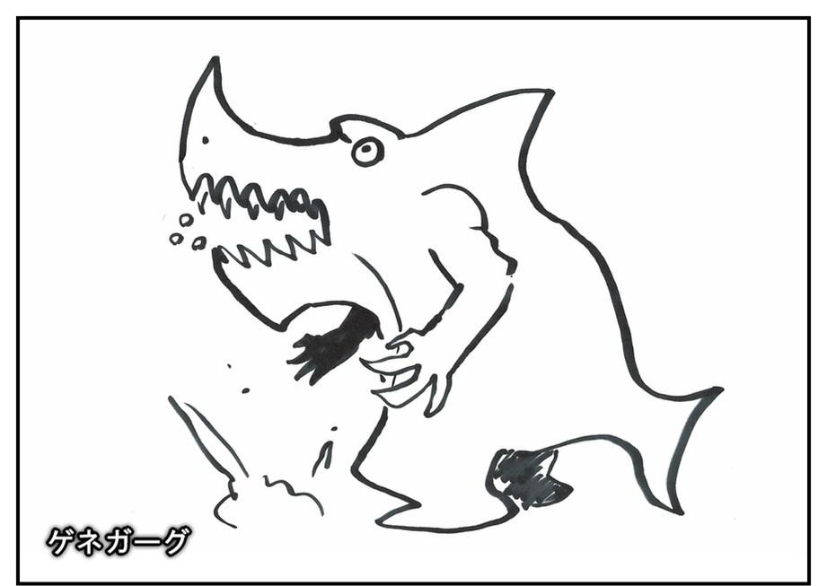 【ただの雑記】記憶だけでウルトラマンゼットや怪獣を描けるか!?_f0205396_14204564.jpg
