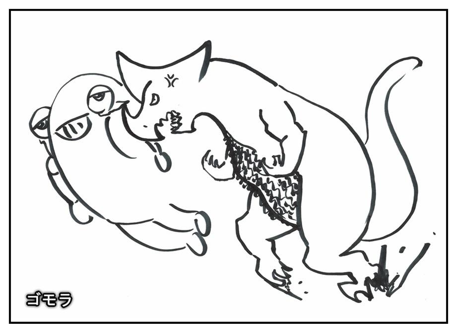【ただの雑記】記憶だけでウルトラマンゼットや怪獣を描けるか!?_f0205396_14211861.jpg
