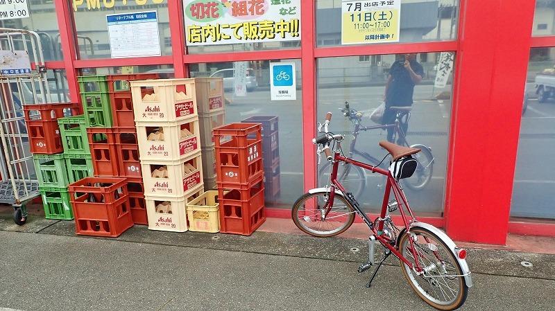 置き自転車でお使いへ_c0336902_19064514.jpg