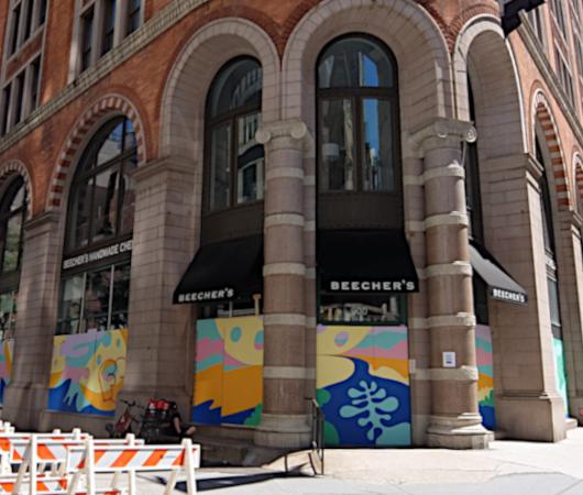 NYで愛される老舗の名店エリア、歴史ある建物、街角アート_b0007805_22121476.jpg