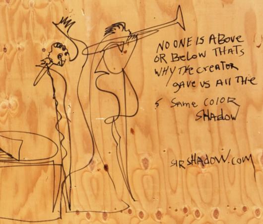 ChaShaMa(チャシャマ)アート・スペースでSir Shadowさんの個展開催中_b0007805_23392656.jpg