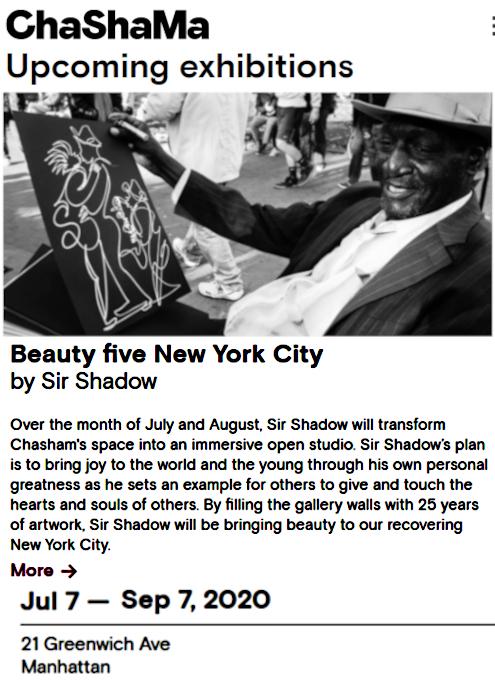 ChaShaMa(チャシャマ)アート・スペースでSir Shadowさんの個展開催中_b0007805_23394296.jpg