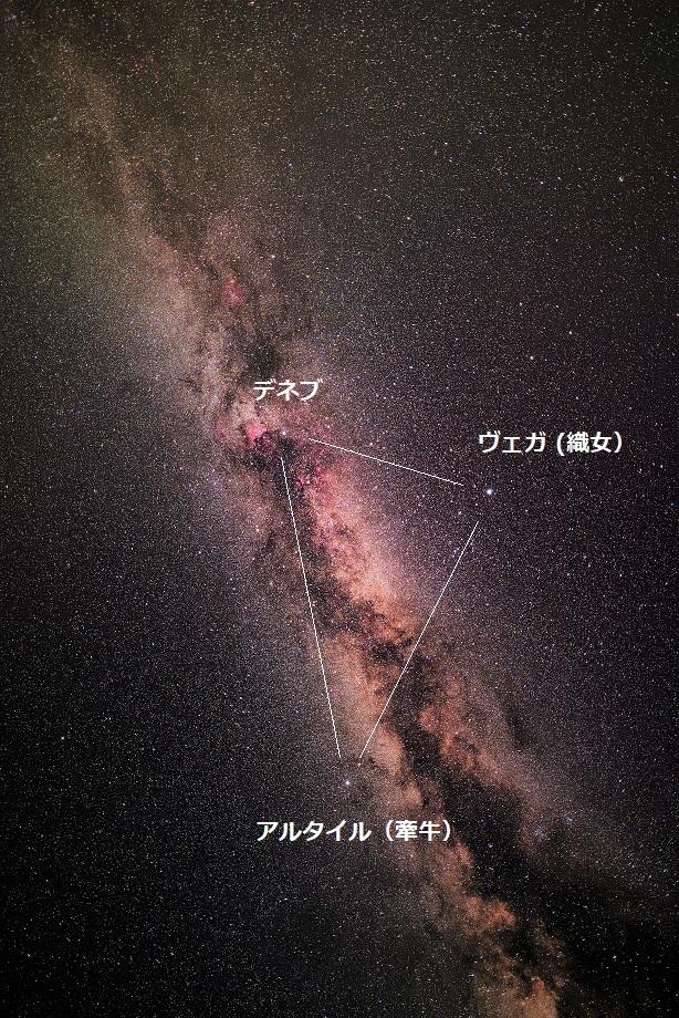 夏の大三角形と天の川_e0344621_07221349.jpg