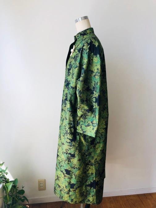 着物着物リメイク/大島のお着物から変わりVネックワンピ_d0127925_12381168.jpg