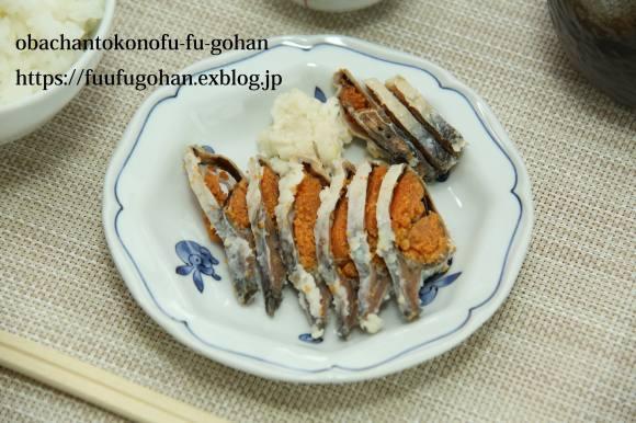 昨夜の豚肉の葱レモンソース&野菜の素揚げおうちバル&ひとりごはん_c0326245_11560249.jpg