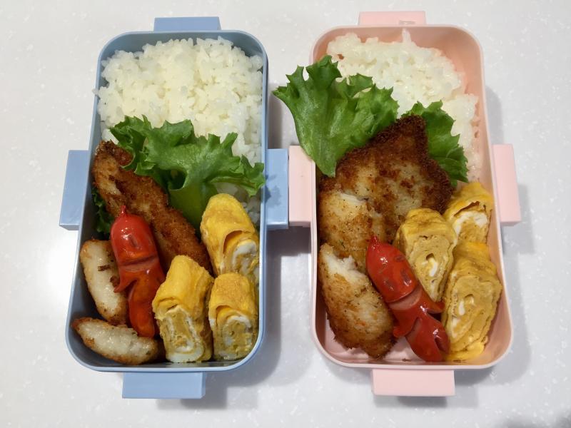 白身魚フライ弁当☆_f0183846_08002653.jpg