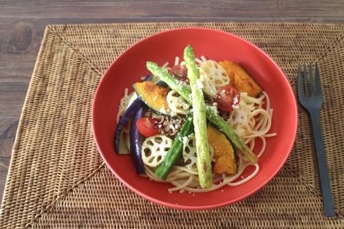 夏野菜たっぷりパスタ⭐︎_f0220354_16382240.jpeg
