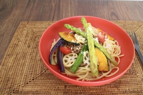 夏野菜たっぷりパスタ⭐︎_f0220354_16392383.jpeg