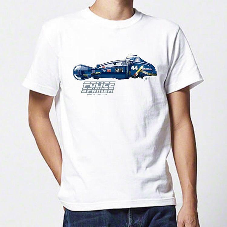 Police Spnner T-shirt by Jakob Stærmose_e0118156_16020178.jpg