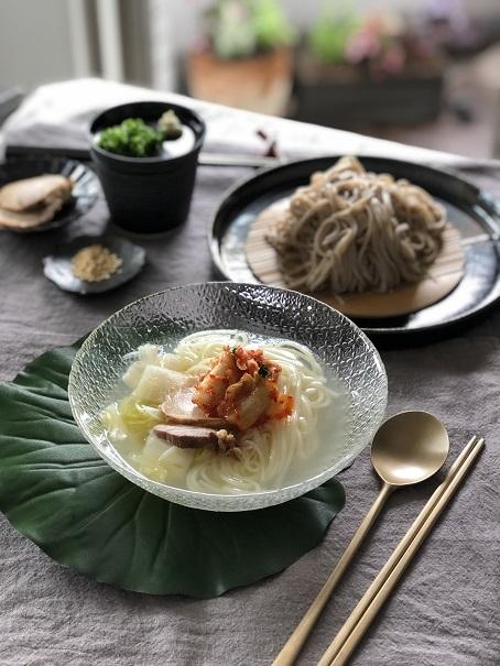 水キムチの季節です 冷麺も美味しいよ_b0060363_21290129.jpeg