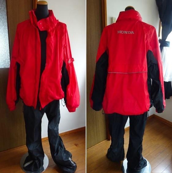 愛用していたホンダのバイク用雨具を売りに出す_d0061678_09460268.jpg