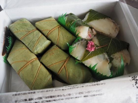 鯛の柿の葉寿司_a0258686_08205548.jpg