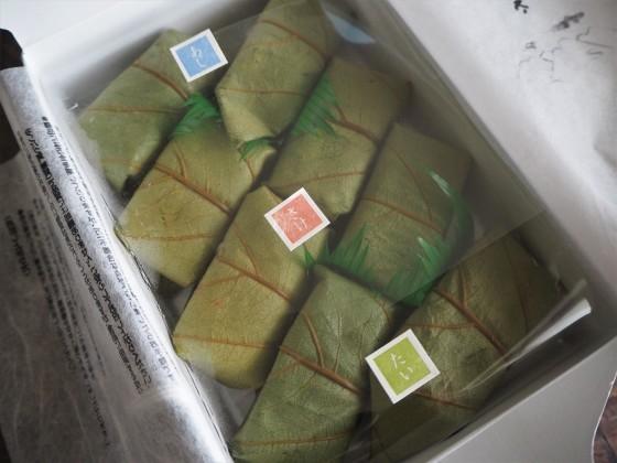 鯛の柿の葉寿司_a0258686_08210158.jpg