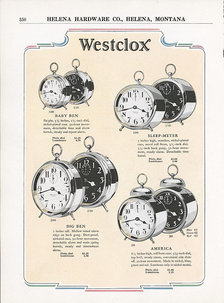 7月11日(土)マグネッツ大阪店アメリカン雑貨入荷日!! #1 AntiqueAlarmClock 1910\'~Westclox BigBen Style-1~9 &  INGRAHAM,ELGIN!_c0078587_23534150.jpg
