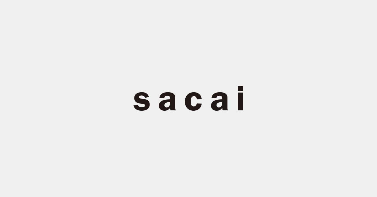 sacai & Graphpaper - 20 A/W COLLECTION START!!_c0079892_18363444.png