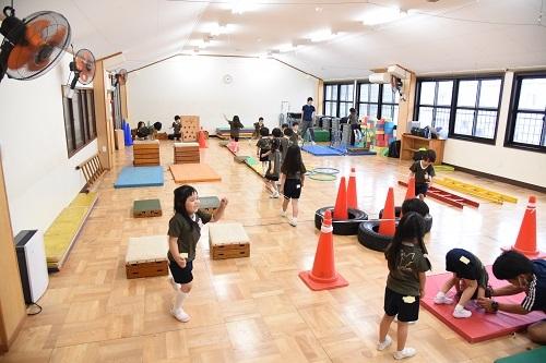 年中 体育教室_c0058507_17335522.jpg