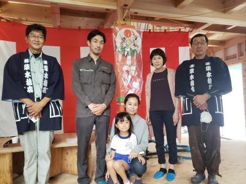 栃木県芳賀町にて上棟しました。_a0059217_14270434.jpg