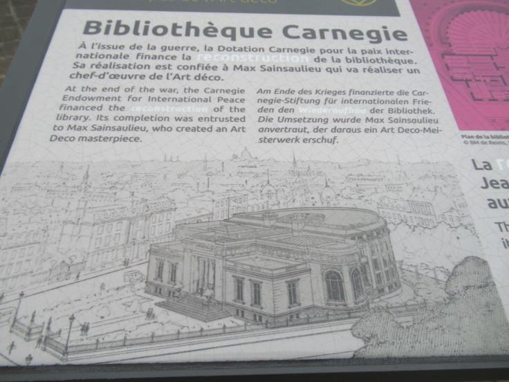 ランス観光*カーネギー図書館(Bibliothèque Carnegie)_c0212604_2015789.jpg