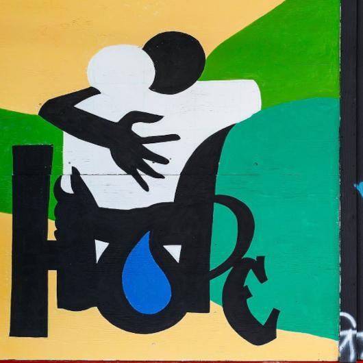 "NYのパワフルな""Black Lives Matter""壁画アート_b0007805_21250347.jpg"