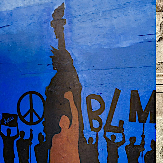 "NYのパワフルな""Black Lives Matter""壁画アート_b0007805_21252471.jpg"