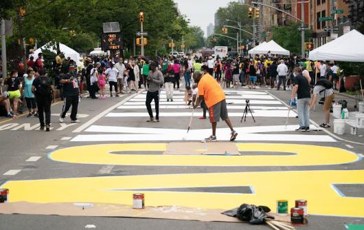 "NYのパワフルな""Black Lives Matter""壁画アート_b0007805_22462957.jpg"