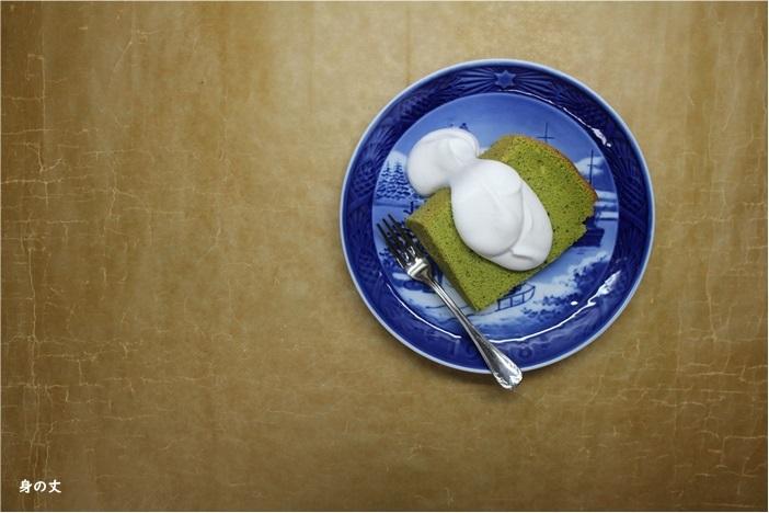 抹茶シフォンケーキ 一緒に作りましょうか?_e0343145_21272014.jpg