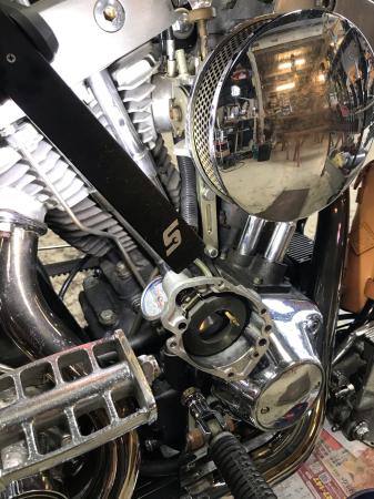 81ショベリジchopper仕上げ 7/8/2020_c0133351_15305137.jpg