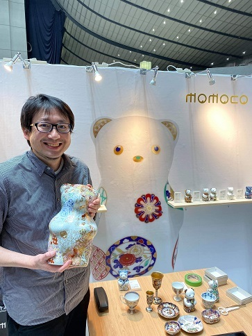 momoco bear モモコベアーの新作と転写体験 「rooms(ルームス)40」_d0125457_16012451.jpg