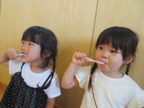 3歳児 歯磨き指導_f0327175_15042786.jpg