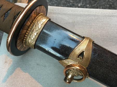 海軍士官用新型軍刀外装・新型軍刀制定当初の物。_a0154482_20382243.jpg