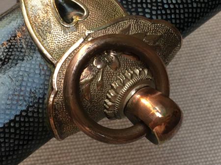 海軍士官用新型軍刀外装・新型軍刀制定当初の物。_a0154482_20423123.jpg