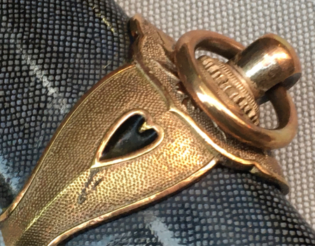 海軍士官用新型軍刀外装・新型軍刀制定当初の物。_a0154482_20424073.jpg