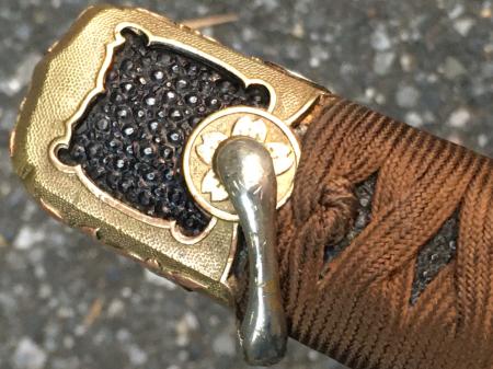 海軍士官用新型軍刀外装・新型軍刀制定当初の物。_a0154482_20474340.jpg
