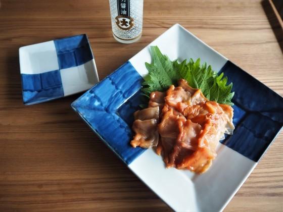 白えびのかき揚げとササミの天ぷら_a0258686_08112016.jpg