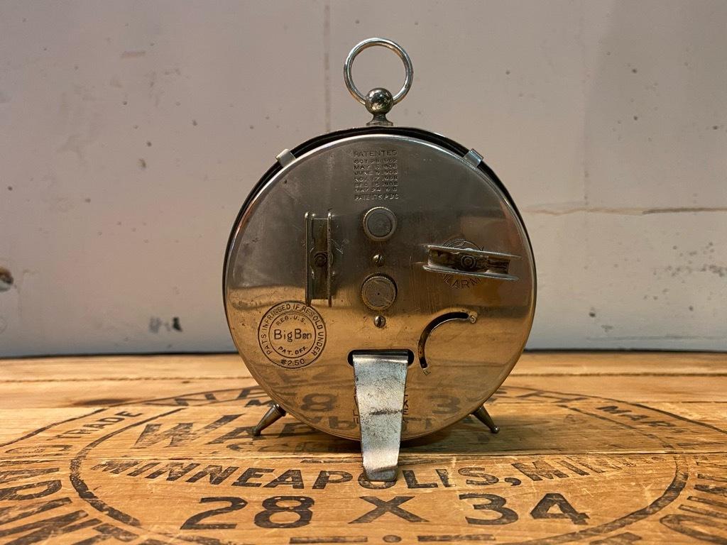 7月11日(土)マグネッツ大阪店アメリカン雑貨入荷日!! #1 AntiqueAlarmClock 1910\'~Westclox BigBen Style-1~9 &  INGRAHAM,ELGIN!_c0078587_12512404.jpg