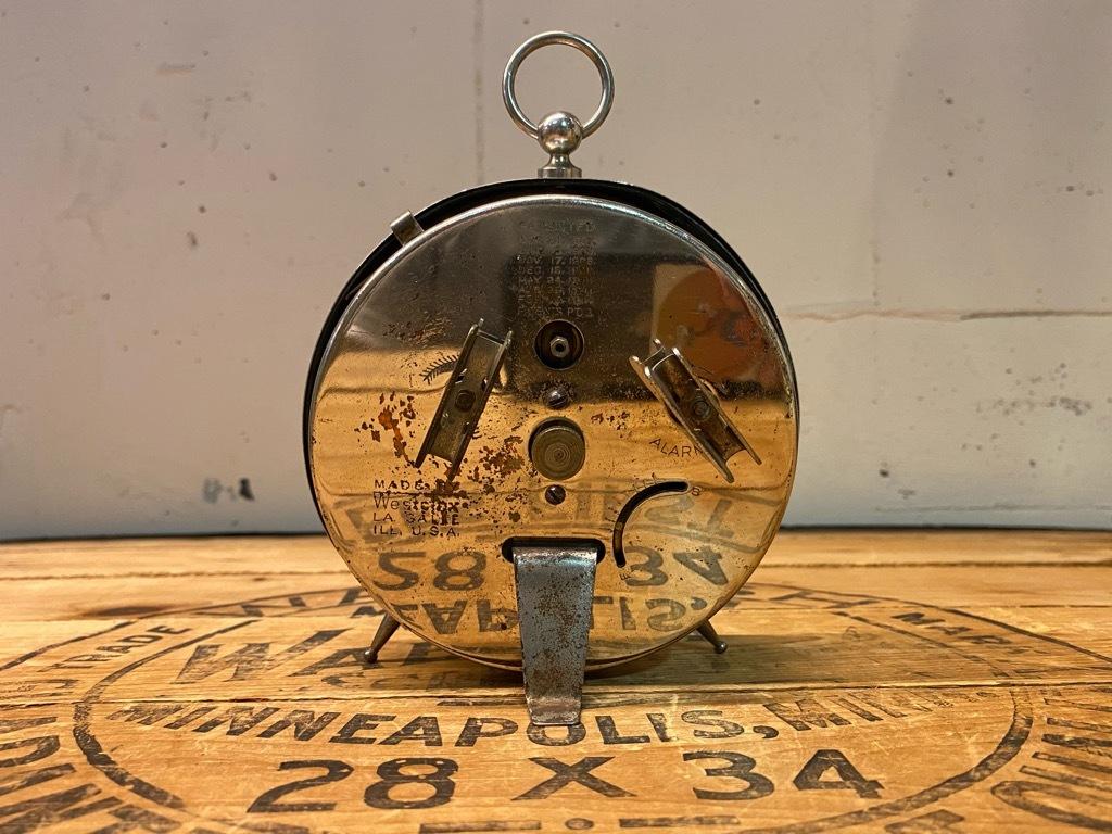 7月11日(土)マグネッツ大阪店アメリカン雑貨入荷日!! #1 AntiqueAlarmClock 1910\'~Westclox BigBen Style-1~9 &  INGRAHAM,ELGIN!_c0078587_12545250.jpg