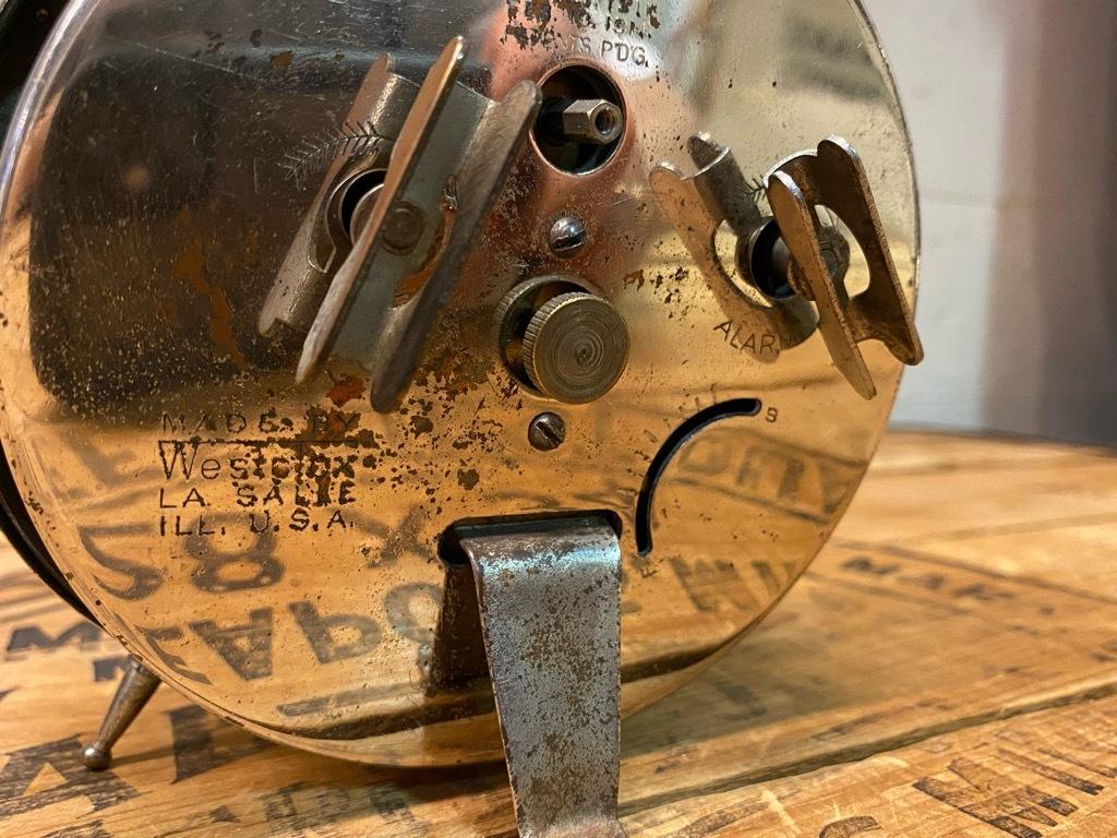 7月11日(土)マグネッツ大阪店アメリカン雑貨入荷日!! #1 AntiqueAlarmClock 1910\'~Westclox BigBen Style-1~9 &  INGRAHAM,ELGIN!_c0078587_12545632.jpg