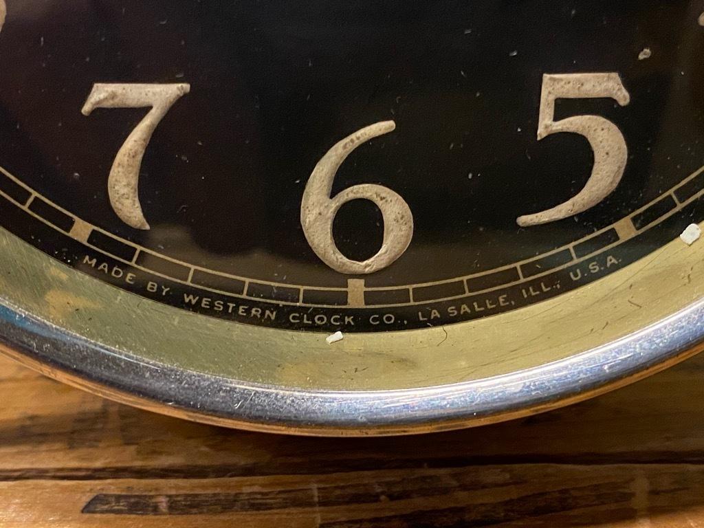 7月11日(土)マグネッツ大阪店アメリカン雑貨入荷日!! #1 AntiqueAlarmClock 1910\'~Westclox BigBen Style-1~9 &  INGRAHAM,ELGIN!_c0078587_12563190.jpg