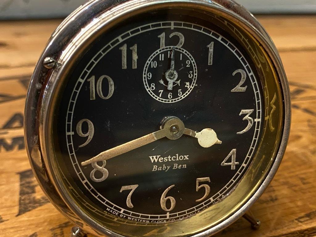 7月11日(土)マグネッツ大阪店アメリカン雑貨入荷日!! #1 AntiqueAlarmClock 1910\'~Westclox BigBen Style-1~9 &  INGRAHAM,ELGIN!_c0078587_13010542.jpg