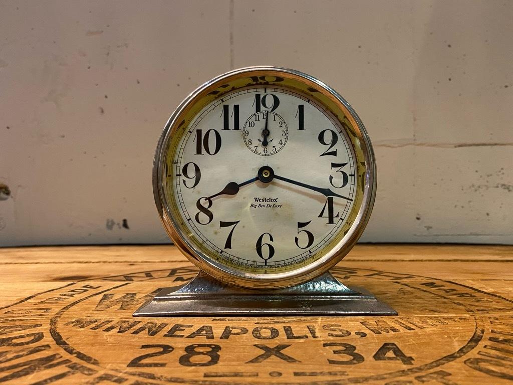 7月11日(土)マグネッツ大阪店アメリカン雑貨入荷日!! #1 AntiqueAlarmClock 1910\'~Westclox BigBen Style-1~9 &  INGRAHAM,ELGIN!_c0078587_13071149.jpg