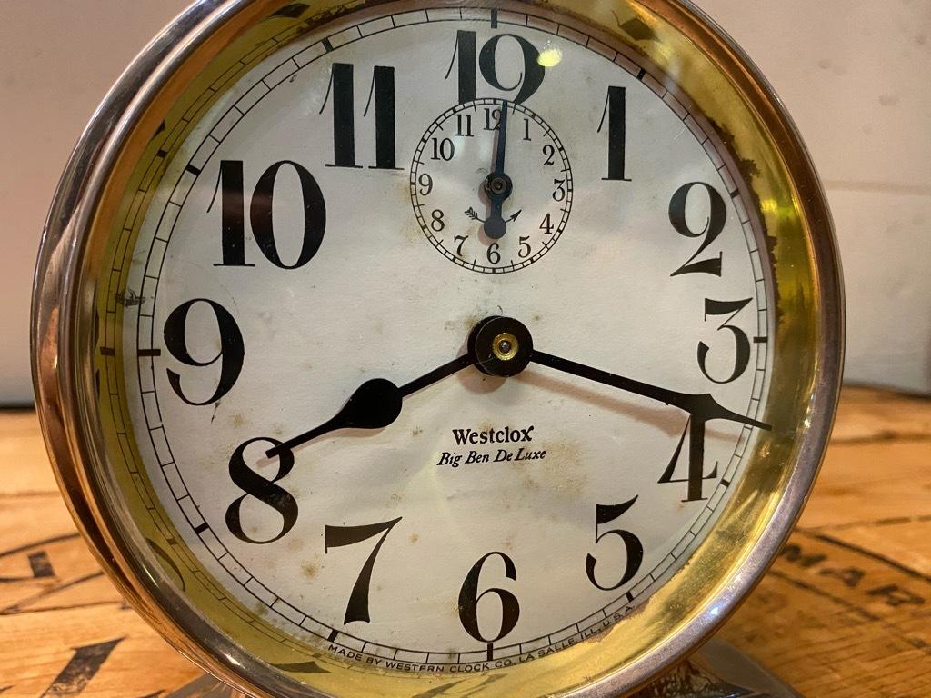 7月11日(土)マグネッツ大阪店アメリカン雑貨入荷日!! #1 AntiqueAlarmClock 1910\'~Westclox BigBen Style-1~9 &  INGRAHAM,ELGIN!_c0078587_13071839.jpg