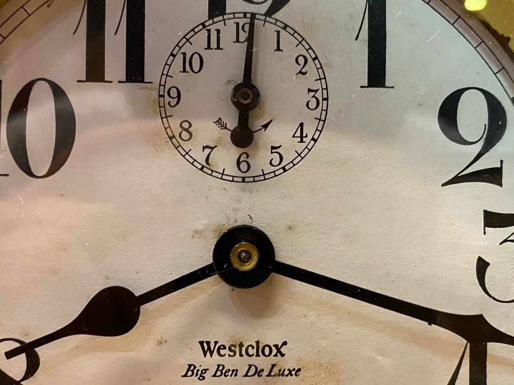 7月11日(土)マグネッツ大阪店アメリカン雑貨入荷日!! #1 AntiqueAlarmClock 1910\'~Westclox BigBen Style-1~9 &  INGRAHAM,ELGIN!_c0078587_13072289.jpg