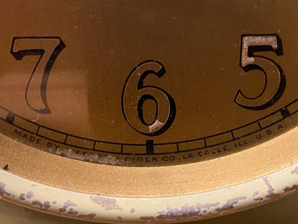 7月11日(土)マグネッツ大阪店アメリカン雑貨入荷日!! #1 AntiqueAlarmClock 1910\'~Westclox BigBen Style-1~9 &  INGRAHAM,ELGIN!_c0078587_13082411.jpg